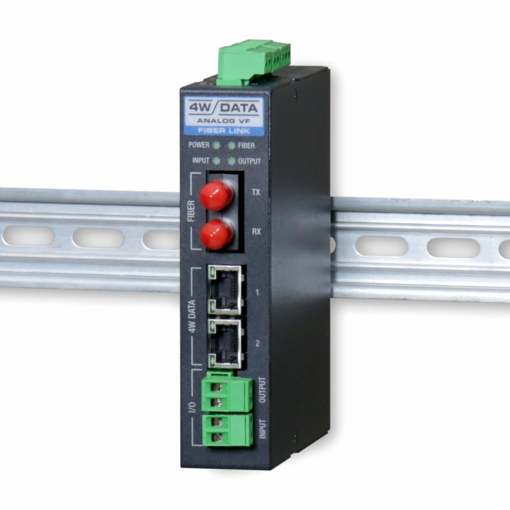 Industrial Media Converters - 2 Channel 4 Wire Data with E&M and IO System