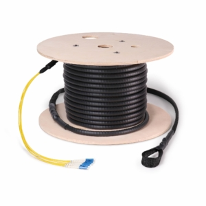 Fiber Cable Assembly, Armored, LC, Singlemode