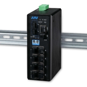 Industrial Ethernet Switches - 8+2 managed Gigabit SFP Switch