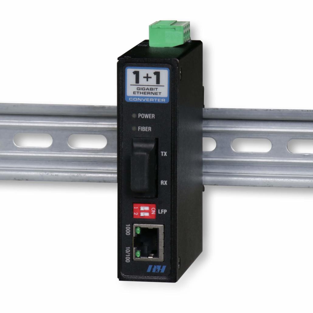 Industrial Media Converters - Industrial Gigabit Ethernet Media Converter