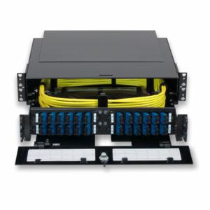 Fiber Patch Panels - Optimum 2RU Fiber Patch Panel