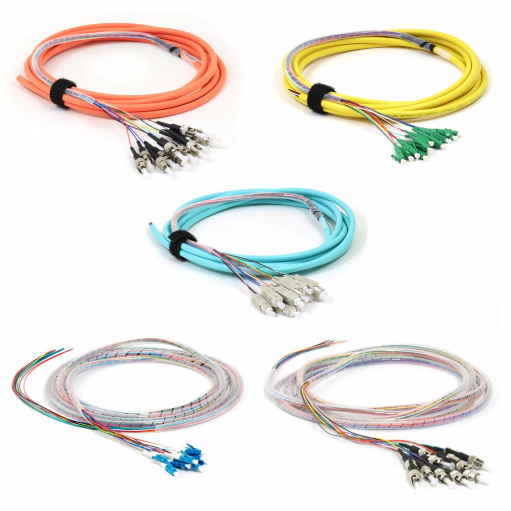 Fiber Cable Assemblies - Splice on Fiber Pigtails