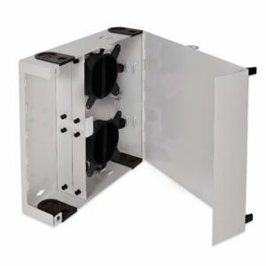 Fiber Patch Panels - Scorpion 4 Fiber Patch Panel Open with Spools